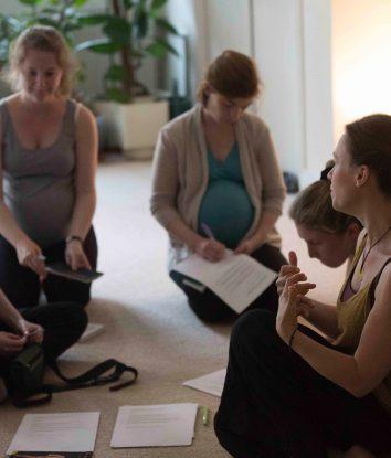 yoga natal partage
